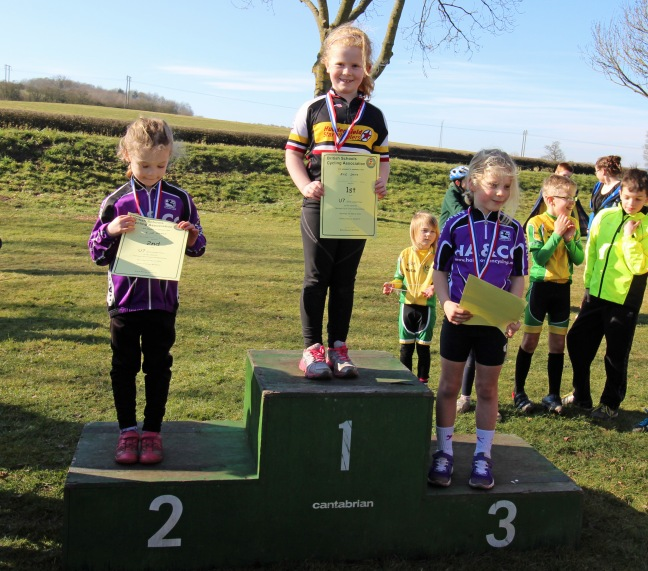 Evie Smith Podium